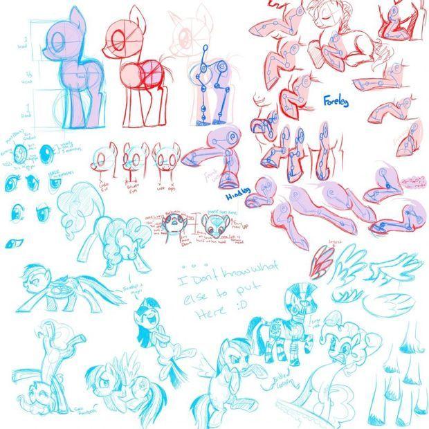 怎么画水晶小马呢,画水晶小马的方法是什么