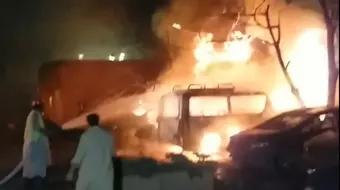 中国驻巴大使入住酒店发生爆炸 现场视频曝光