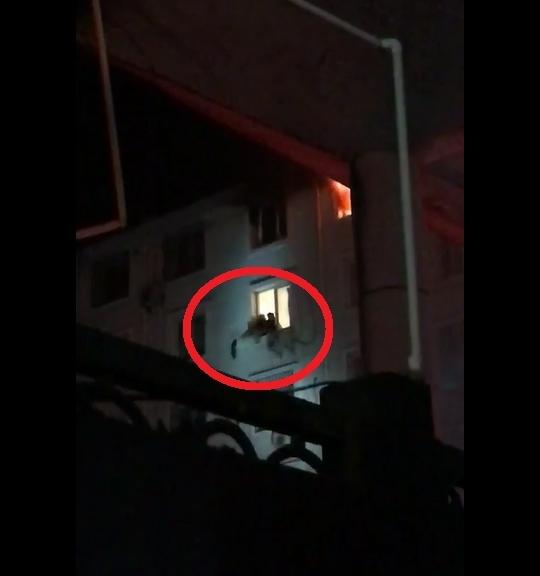 【转】北京时间       惊心动魄!消防5楼窗台探身徒手接住母女 - 妙康居士 - 妙康居士~晴樵雪读的博客