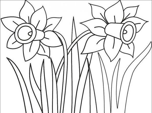 桃花林怎么画 铅笔画