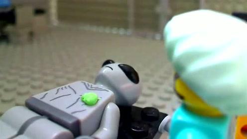 《乐高城市》乐高博士发现了外星人,大家快来围观!