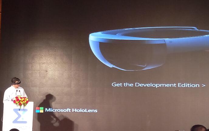 用混合现实(MR)变革未来 247科技在京启动微软全球化布局