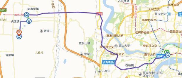成都火车北站到重庆的康居西城最近的路怎么走
