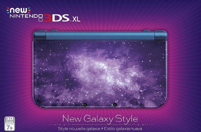 任天堂公布全新银河风格N3DSL