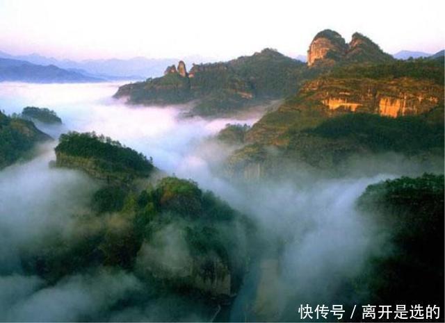 福建三明市唯一一个国家5A级旅游景区,风景优美,值得前往