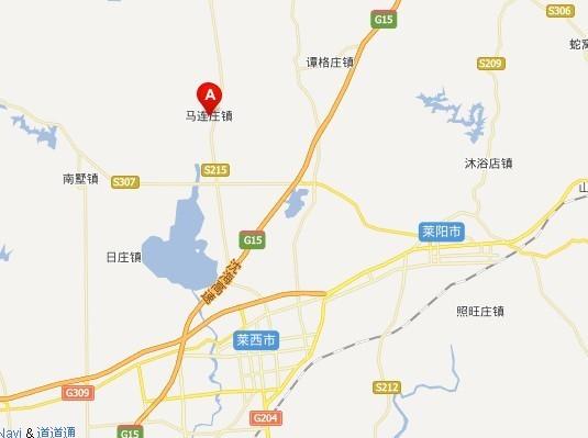 青岛莱西榆园路在什么位置求地图