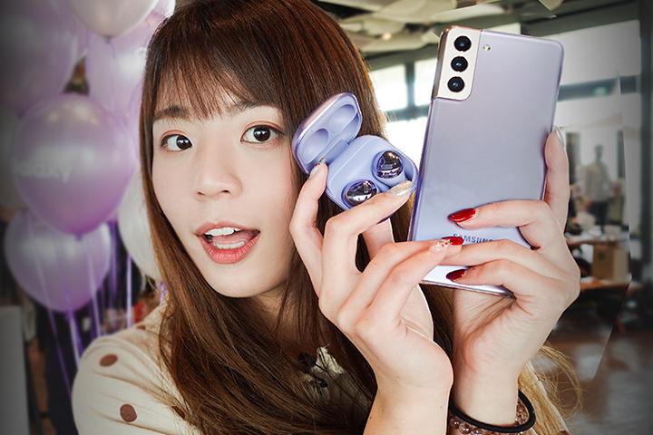 电獭少女|还真有笔!Galaxy S21 全系列新机上手体验