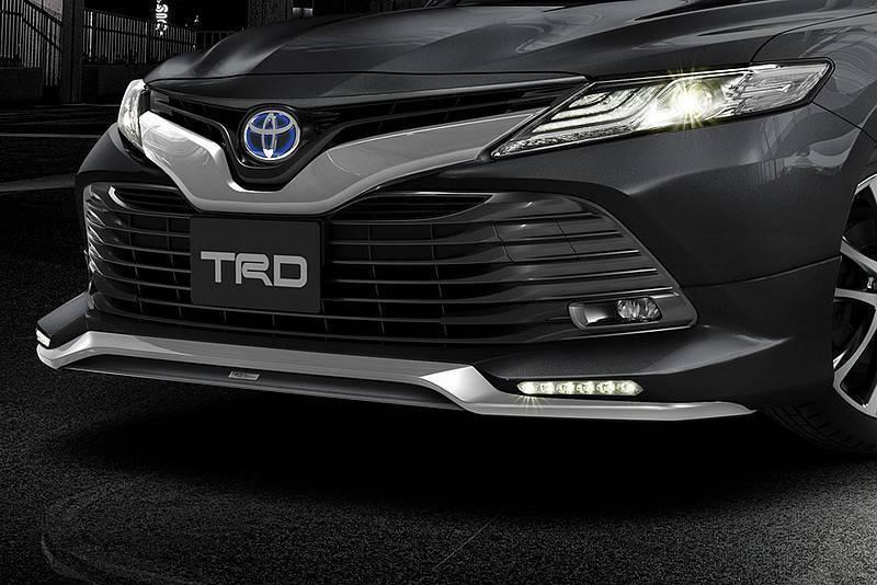 运动不再保守 全新一代丰田凯美瑞trd改装版首发