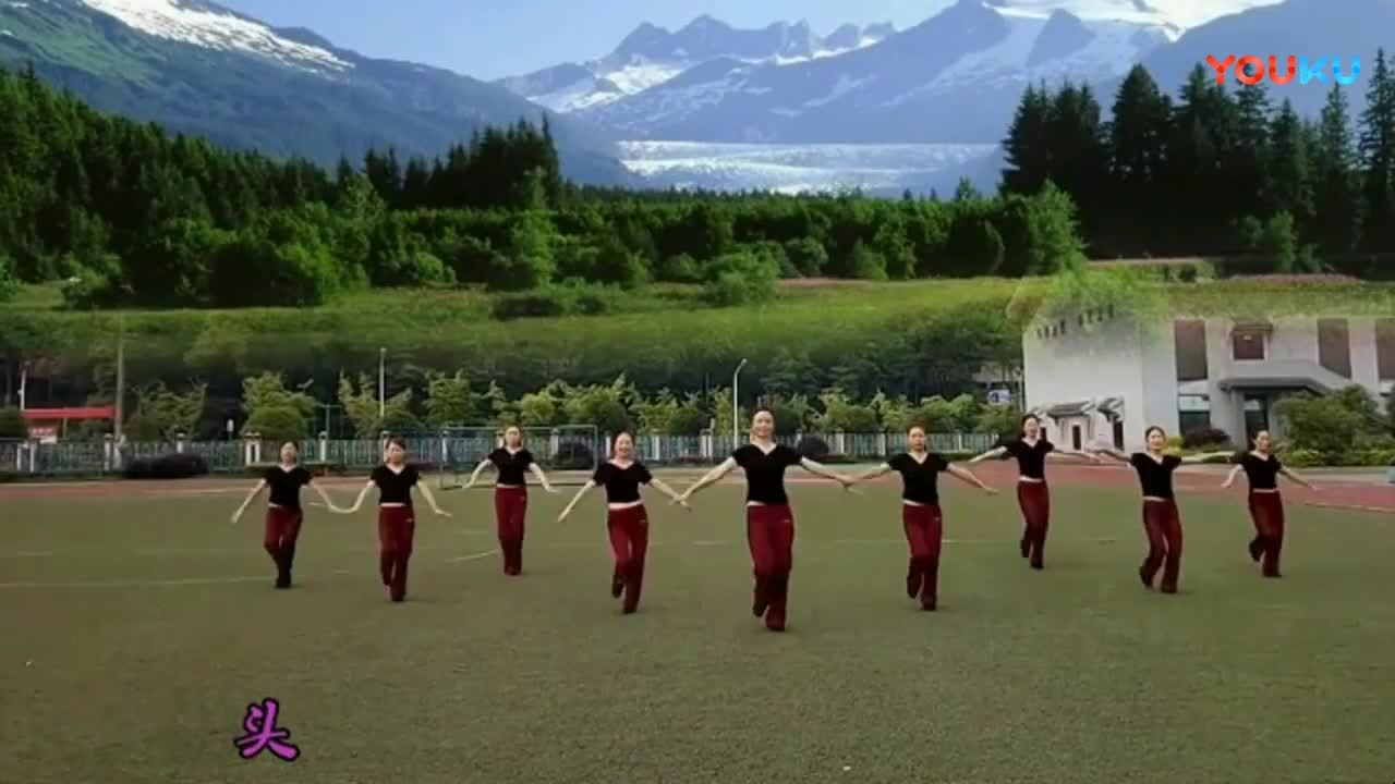 步骤舞我从视频来教学大全草原舞蹈广场儿童下毕节大方县丧礼的具体教学图片