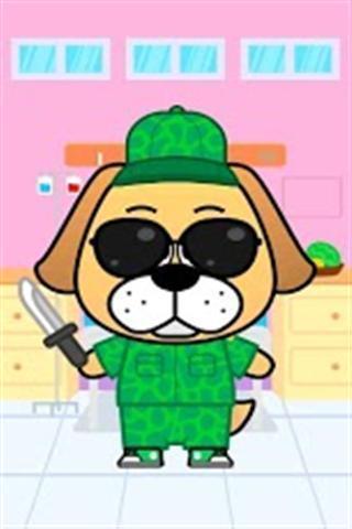*可爱的小狗*可爱的猫*可爱的兔子*可爱的仓鼠每一种动物,你可以打扮