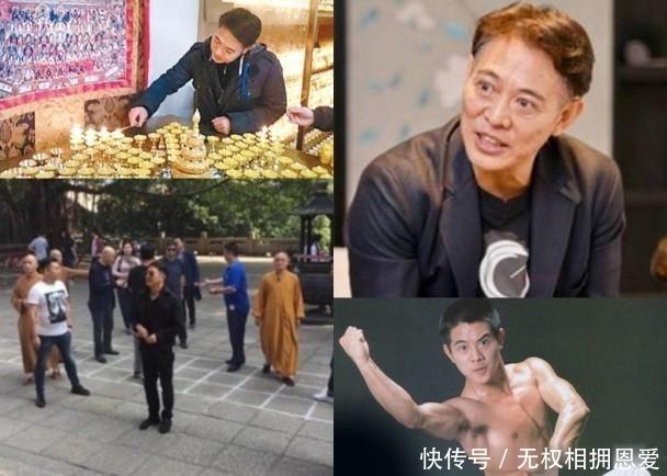 李连杰晚会上被美女贴身拍照,他不怕手握20亿的利智吃醋吗
