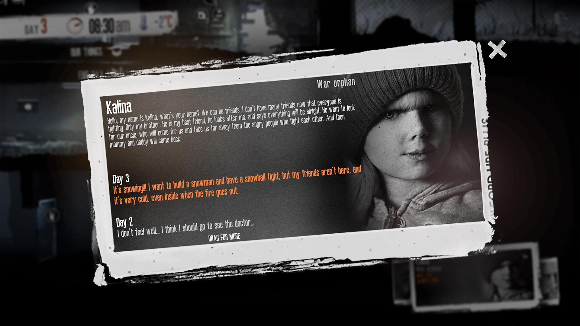 这是我的战争:孩子们DLC