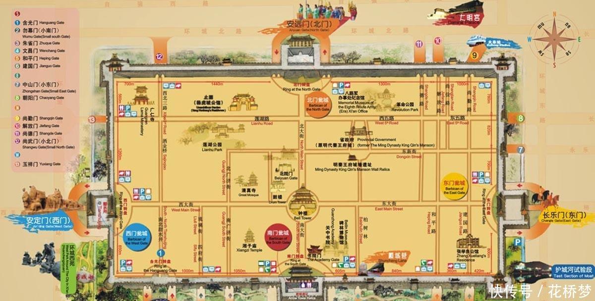 小地名蕴含大历史关于西安城墙上18个城门那些事儿(下)