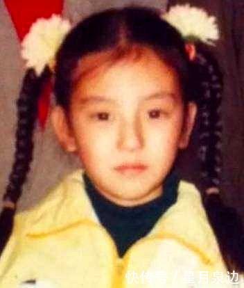 方媛晒小时候照片打脸整容传闻,从小就是女神