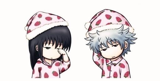 谁有一个情侣头像,是一个男穿着睡衣卡通的