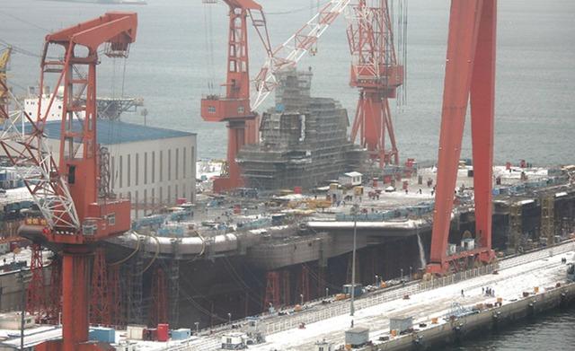 048航母建造工程曝光 中国建国百年将有10艘 - 马骁-v-mzm - 马骁