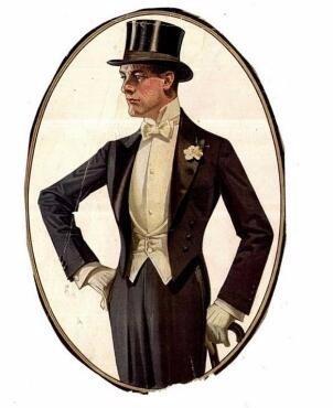 当时广东的帽子制造商为在中国的法国贵族们定制了这样高高大大的帽子图片