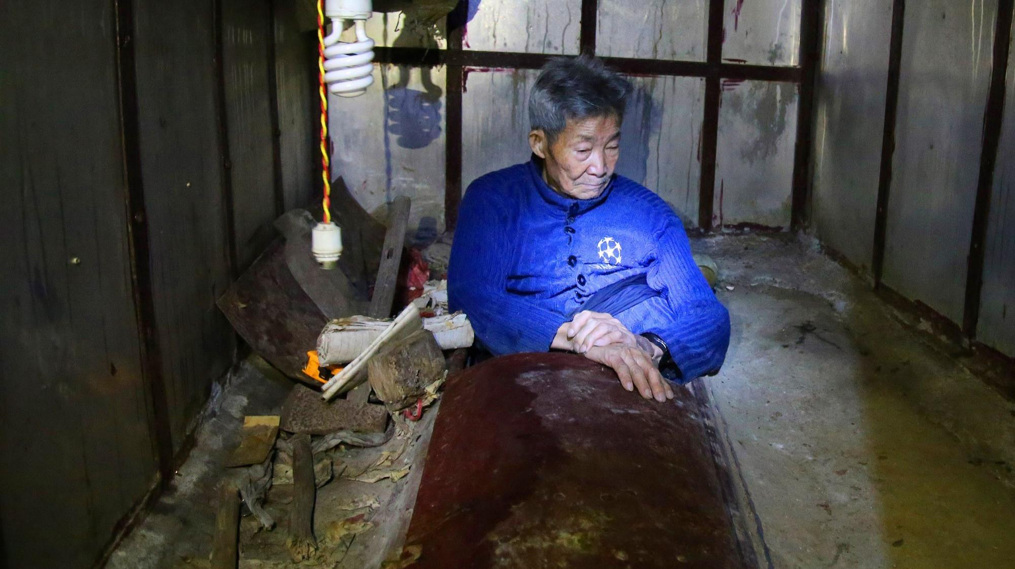 孤寡老人花26万修活人墓 内部机关重重 - 性至勃勃 - 性至勃勃
