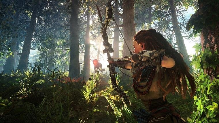 《地平线:零之黎明》游戏画面