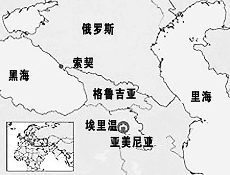 俄罗斯索契地图位置