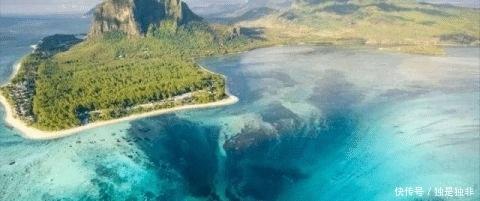 """非洲毛里求斯出现罕见""""海底瀑布"""",其形成原因令人感到恐怖!"""