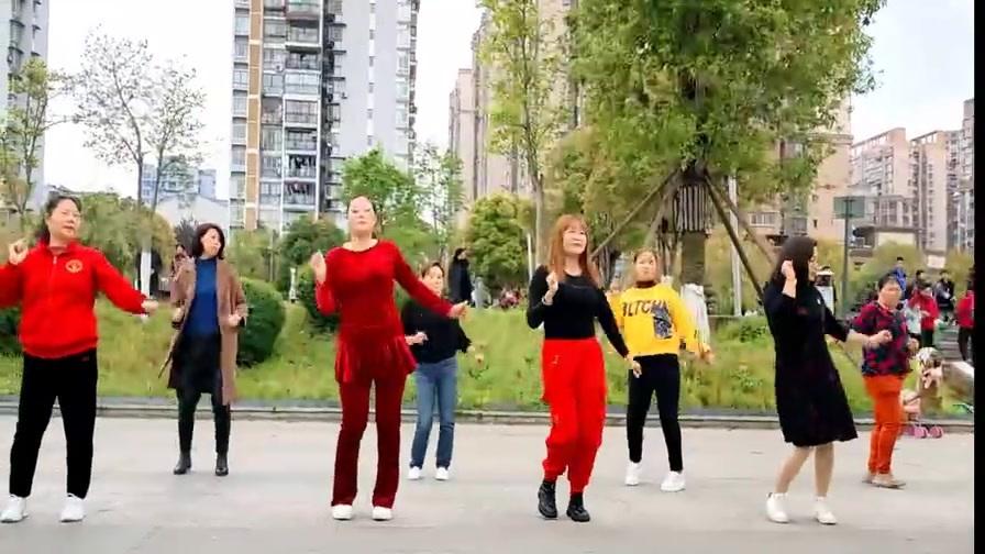 《磕儿》流行现代舞,我们一起跳舞健身