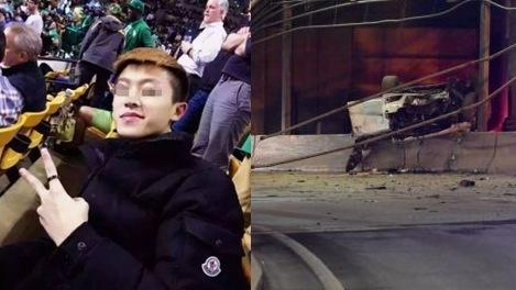 【转】北京时间      中国留学生在美飚车死亡:奥迪A8从空中撞上隧道 - 妙康居士 - 妙康居士~晴樵雪读的博客