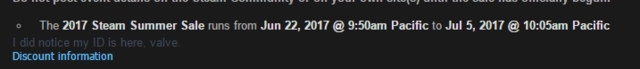 Steam夏季特惠时间曝光 2017年6月23号正式开启