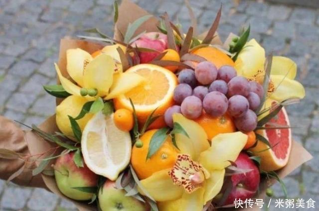 """七夕情人节相伴,4种娇嫩的""""美食""""花束,你最想收到哪个?"""