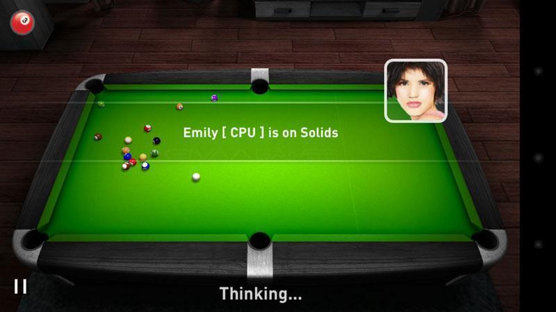 真实桌球3D截图3