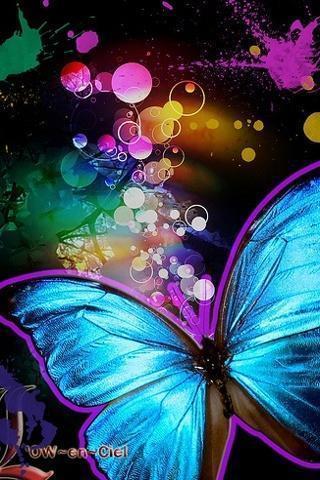 蝴蝶酷炫动态壁纸