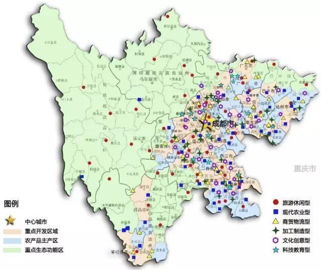 蓬安县城区地图