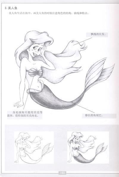 卡通漫画素描技法:人物篇