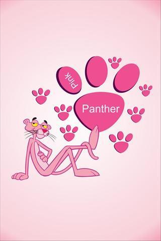 饭卡卡贴图片素材粉红豹