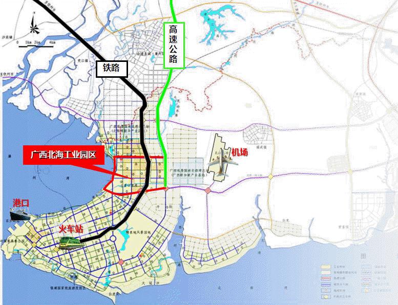 青岛到广西北海火车