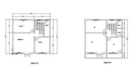 求一张11米长10宽110平方农村房子设计图