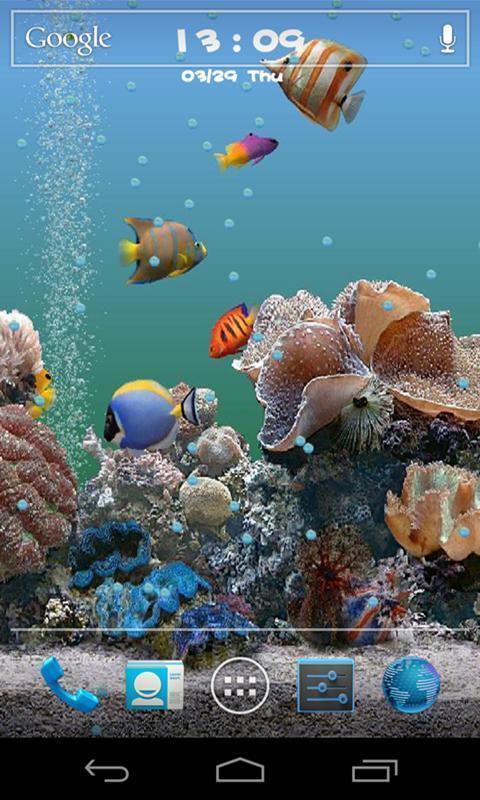 3d海底世界动态壁纸_360手机助手