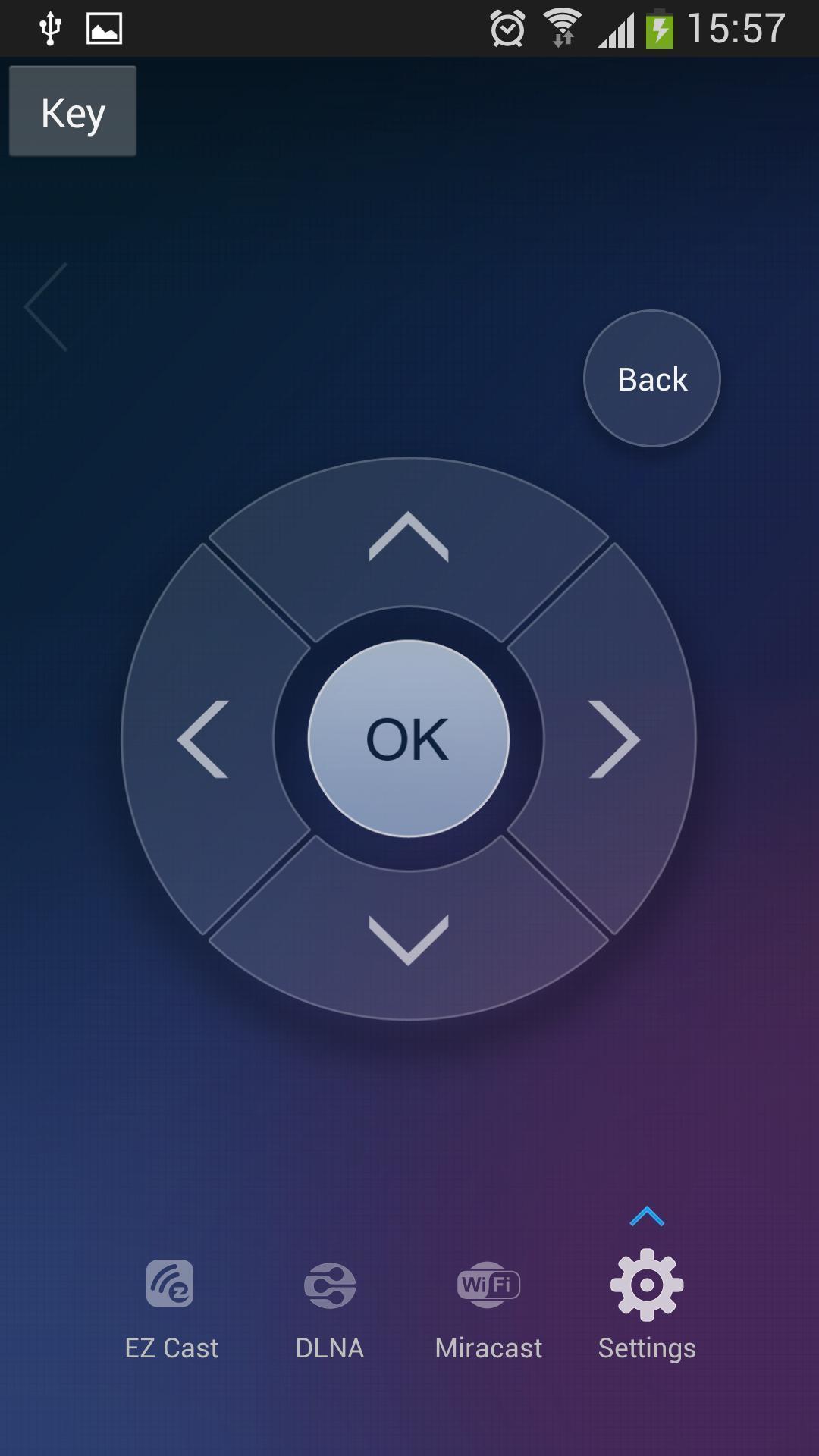 从1.1.550版本开始,EZCast应用程式支持Apple TV, 您可以把苹果设备里的资料/视频/音乐/文档等内容投影到Apple TV上.目前EZCast应用程式支持EZCast电视棒,Google Chromecast,Apple TV.谢谢! EZCast是一款强大的家庭多媒体分享软件,可以完成手机,平板,PC上的屏幕完美切换到TV大屏幕 搭配winnerwave的无线连接方案,实现更好的多屏互动体验 从2014年3月15日起(Android App版本号1.