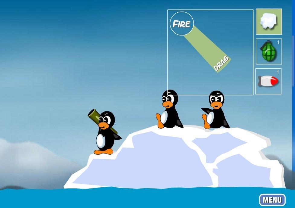 动漫冰山抠图素材
