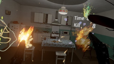 VR游戏《Cockroach VR》登陆Steam 用手枪杀蟑螂