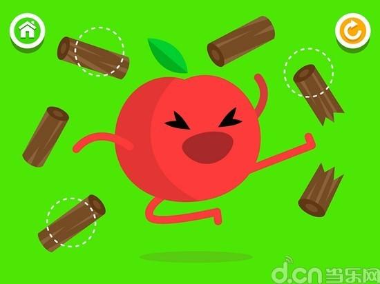但是看着各种水果的表情动作