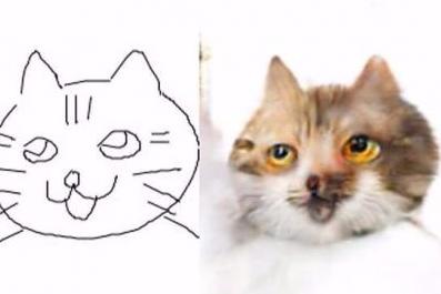 这样的猫咪太可怕日本网友恶搞画猫软件