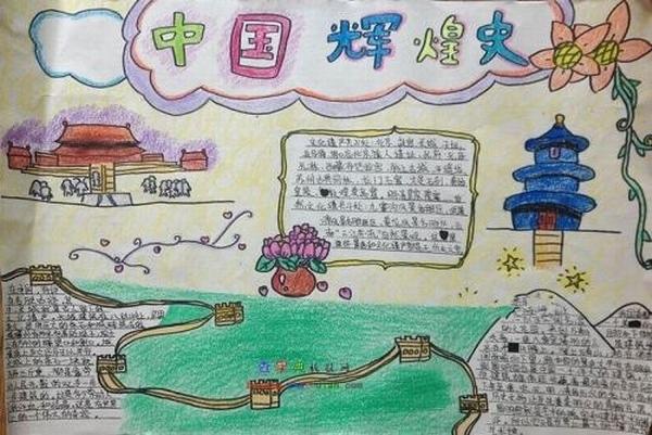 中国历史遗产手抄报图片图片