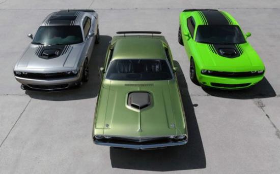 先想到的一定是福特野马、雪佛兰科迈罗-新款道奇挑战者SRT地狱猫