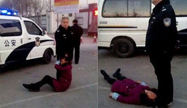 太原警察打人事件过程曝光:被踩头23分钟