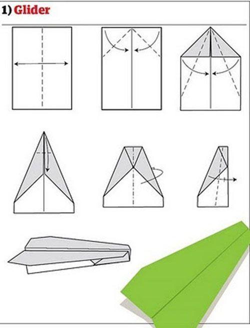 创意折纸飞机视屏 创意折纸飞机 1张纸折纸大全