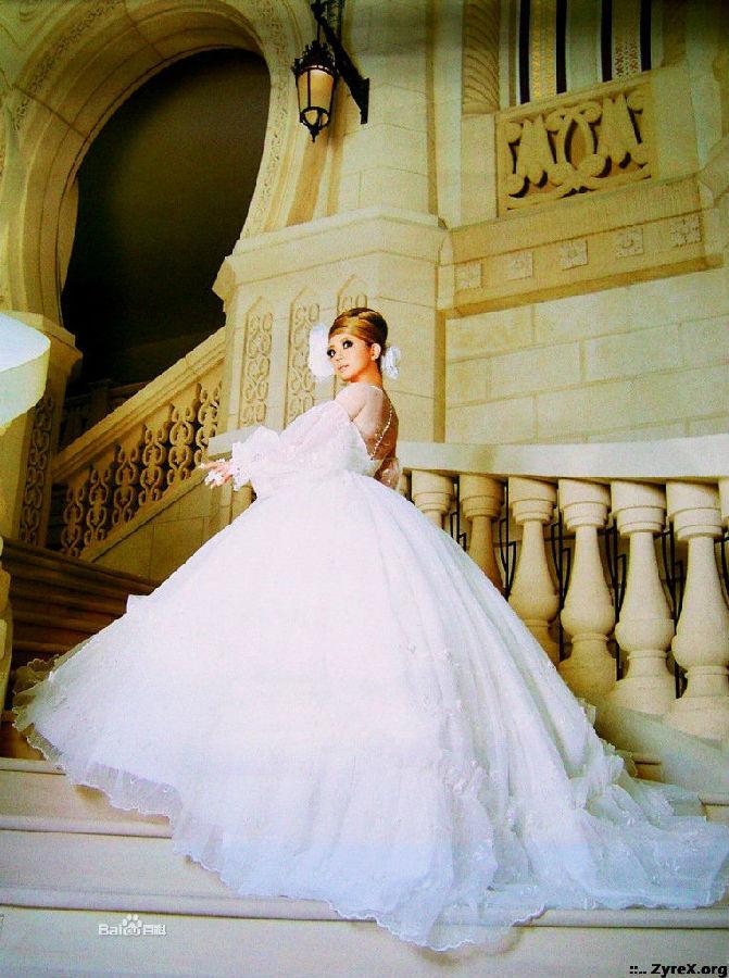 但是毕竟是依照欧式宫廷女装礼裙演化来