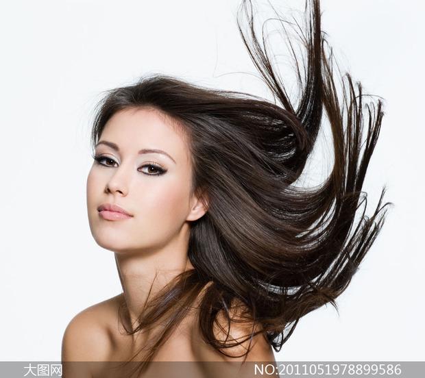 头发抠图高清素材