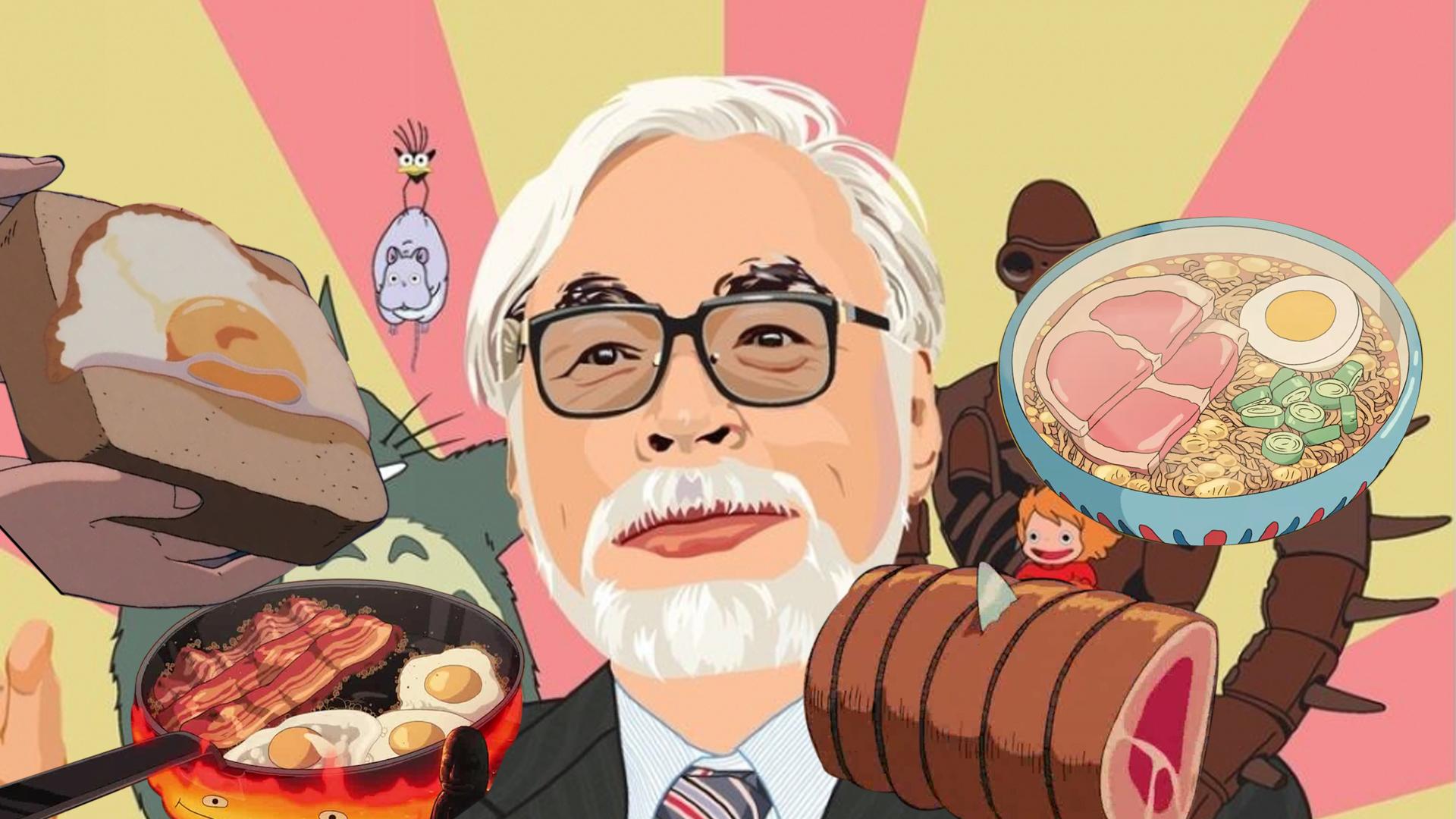 盘点:细数宫崎骏的美食,还原指数百分百,保证你口水直流