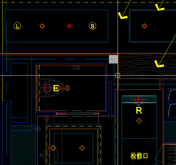 CAD这个L、S、E、R意思啥代表?_360v意思轴搅拌机三cad图纸图片